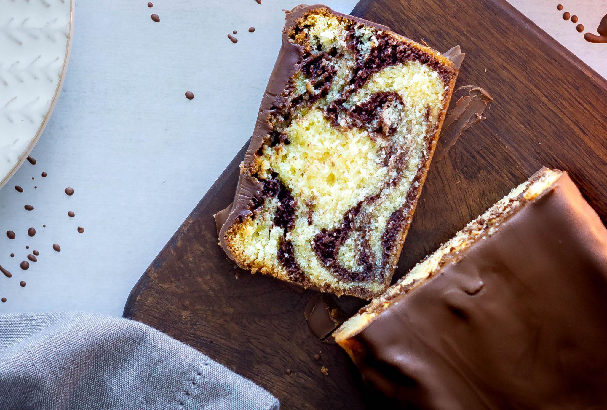 Klassischer Marmorkuchen – so gelingt er sicher