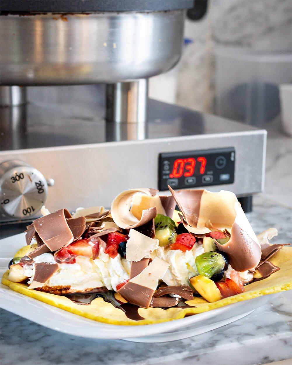 Choco Kebab - lecker und schokoladig genießen.