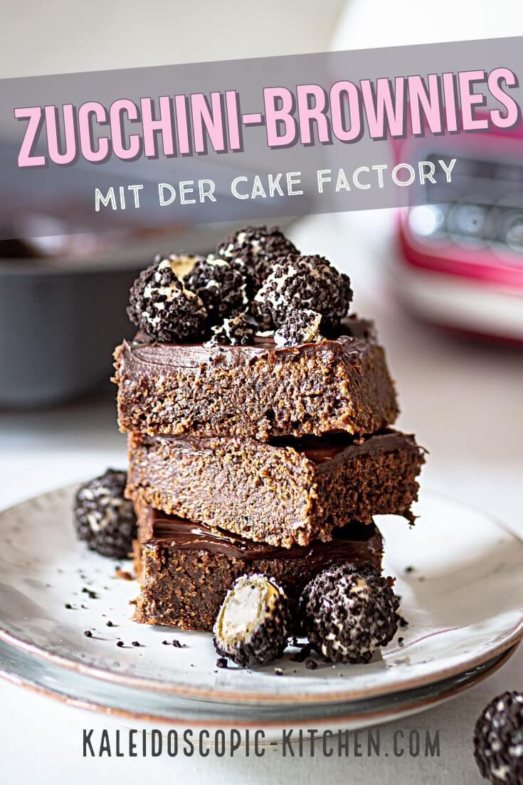 Zucchini-Brownies aus der Cake Factory von Tefal