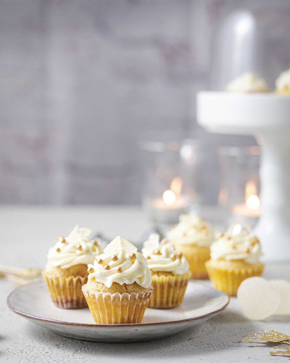 Mini Gin Tonic Cupcakes