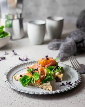 Tomaten - Schinken - Toast von Upfit