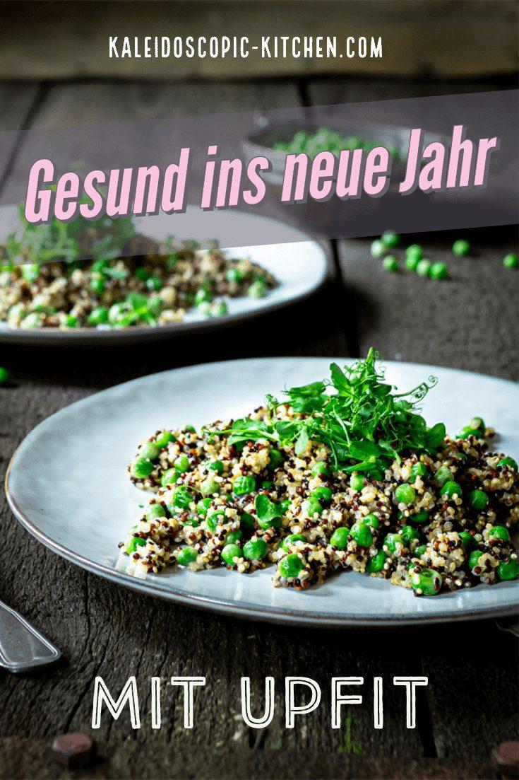 Quinoa-Erbsen-Pfanne von Upfit