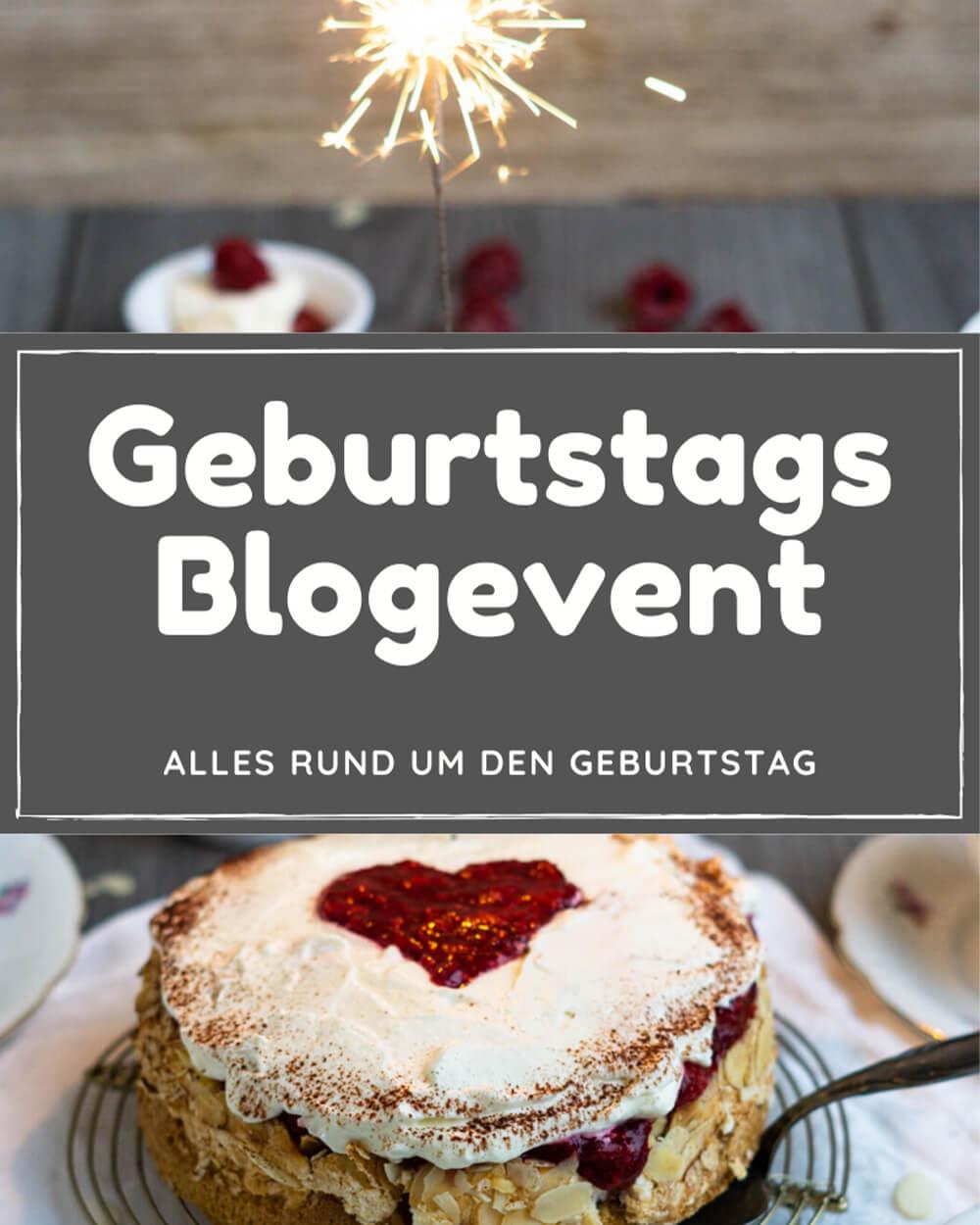 Geburtstags Blogevent