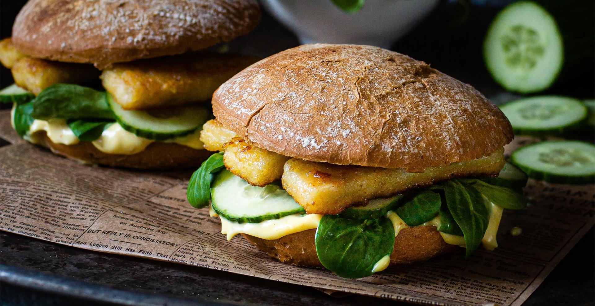 Fischstäbchen – Burger perfekt für Kinder