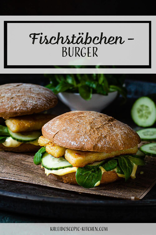 Fischstäbchen - Burger