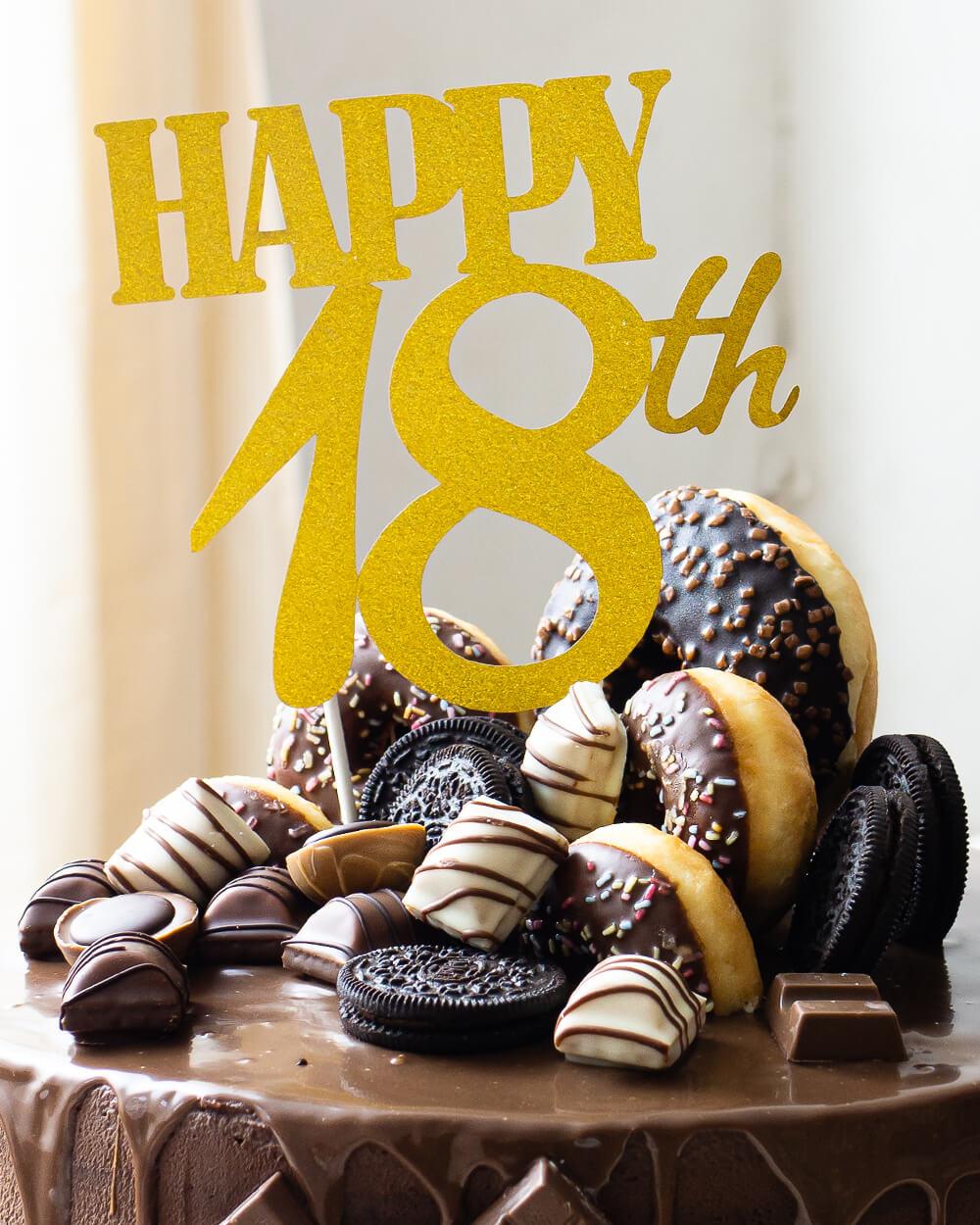 Schokoladen - Drip Cake