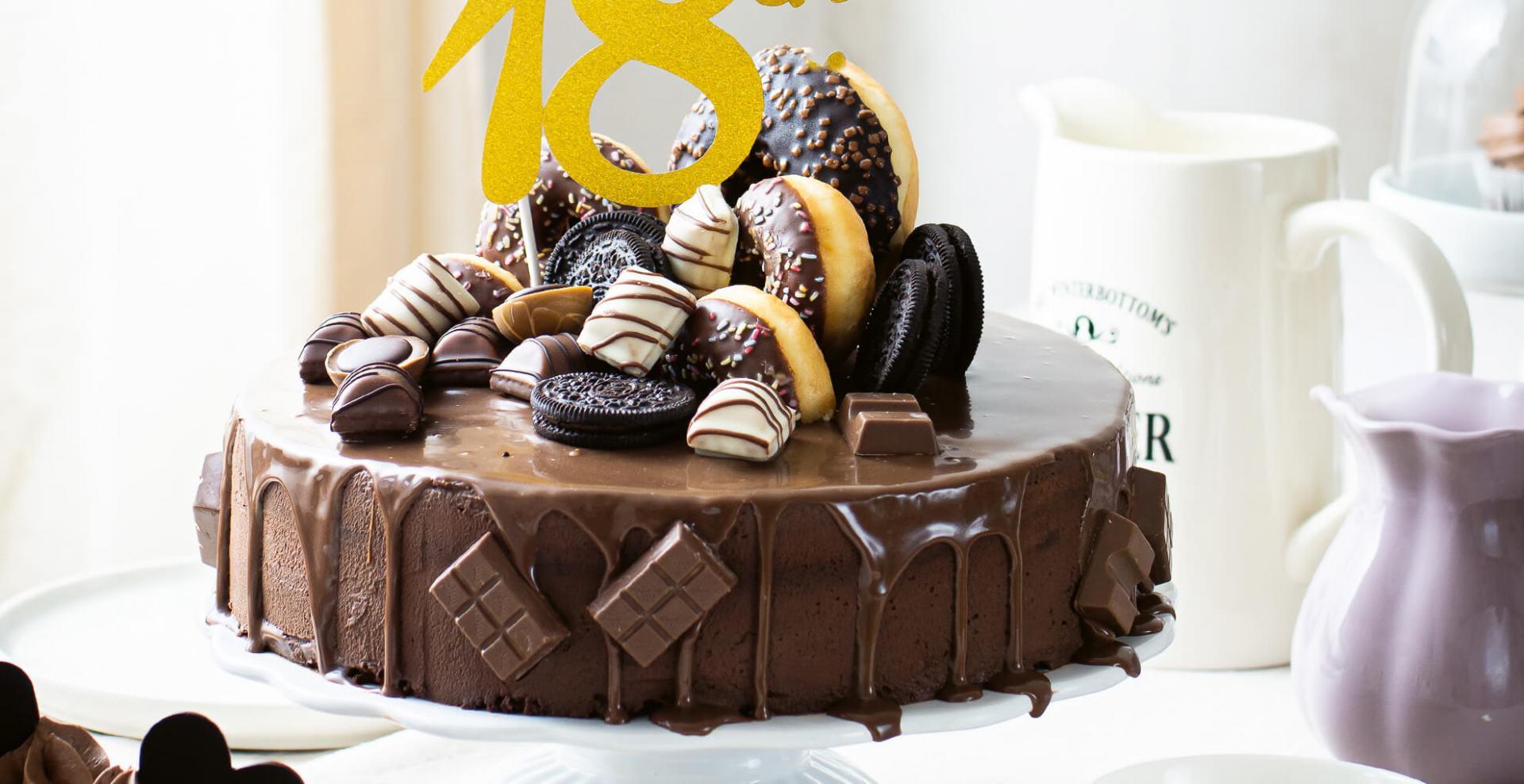 Schokoladen – Drip Cake