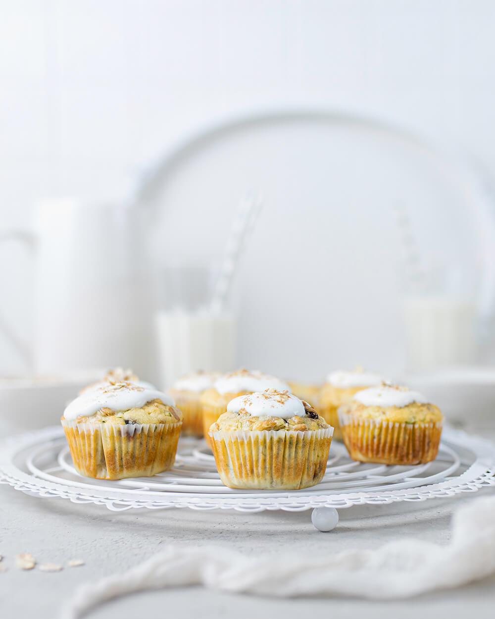 Frühstücksmuffins mit Skyr