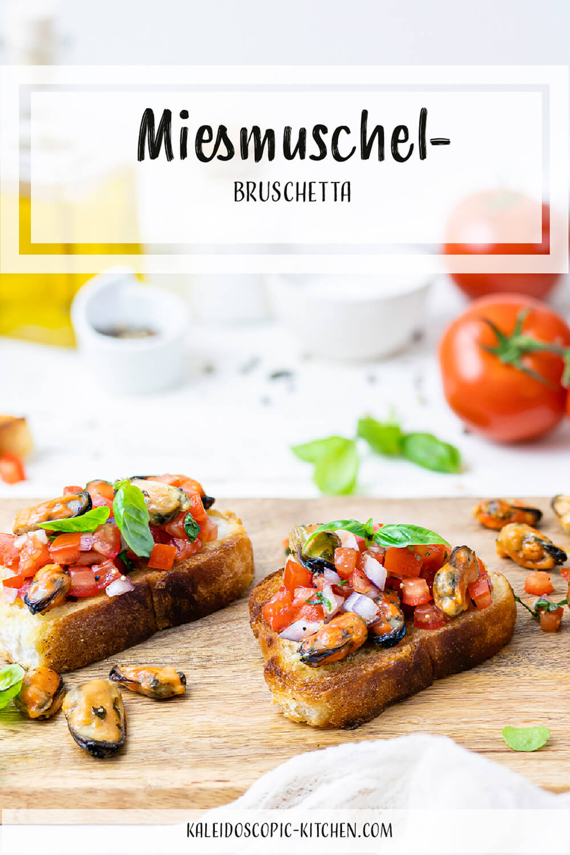 Miesmuschel-Bruschetta