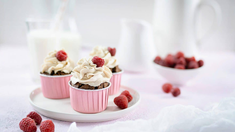 Schoko-Cupcakes mit Mascarpone-Frosting