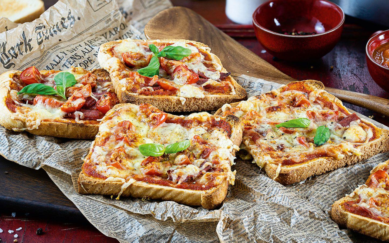 Pizza Toast - ein schnelles Kindergericht